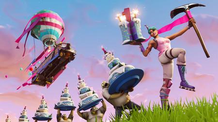 Fortnite celebrará su primer cumpleaños con unos desafíos exclusivos