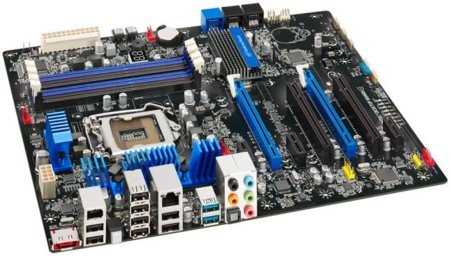 Intel DP67BG motherboard