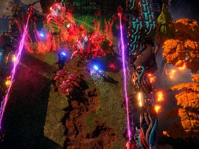 Nex Machina, el nuevo shooter arcade de Housemarque, ya está a la venta en PS4 y Steam