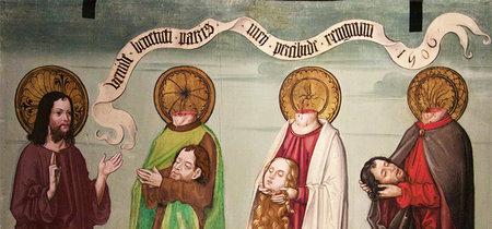 Como la pintura ha mostrado la fascinante historia de los cefalóforos, los santos decapitados
