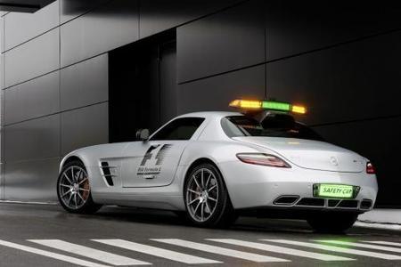 Mercedes SLS AMG Safety Car Fórmula 1