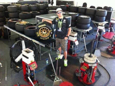 Pirelli le da la oportunidad a Ken Block de probar un Fórmula 1