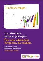 La Gran Imagen presidirá el acto central de la Semana de Acción Mundial por la Educación