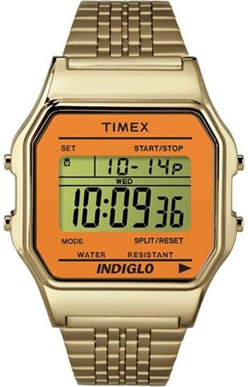 Timex 80 Naranja Dorado