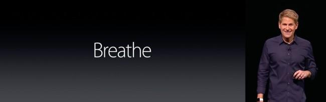 Breathe en WWDC 2016