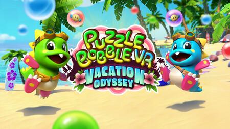 Puzzle Bobble VR: Vacation Odyssey nos desafiará a explotar burbujas sin parar cuando llegue el mes que viene para Oculus Quest