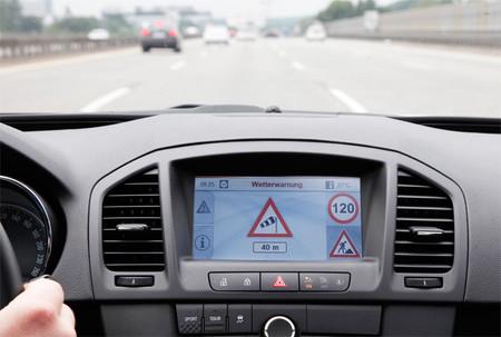 El sistema 'Car-to-Infraestructure' de Opel nos evitará tormentas