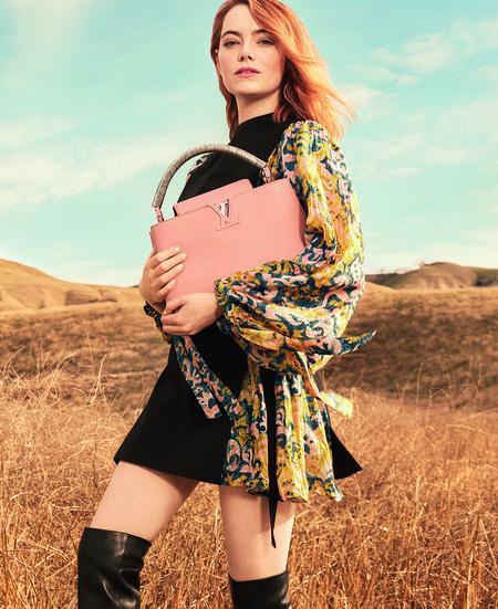 Campana De Emma Stone Para Louis Vuitton4