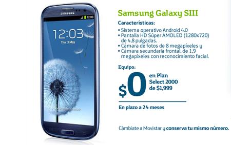 Samsung Galaxy SIII llega a Movistar