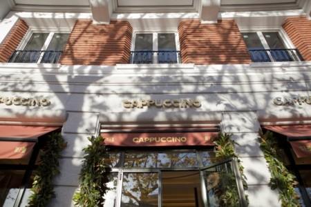 Estilo Art Déco años 30 y excelente oferta gastronómica en el Cappuccino Gran Café Madrid