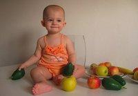El 88% de niños no consume la fruta recomendada