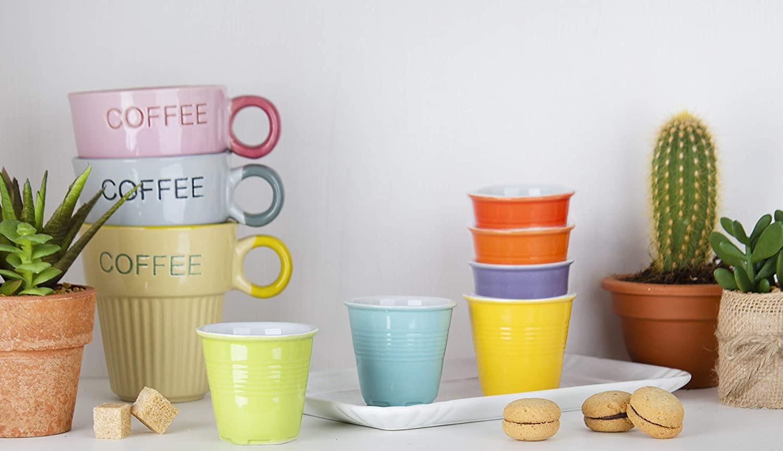 Juego de tazas Color Life