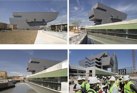 El nuevo edificio del Museo del Diseño de Barcelona (DHUB) abrirá a finales de 2013