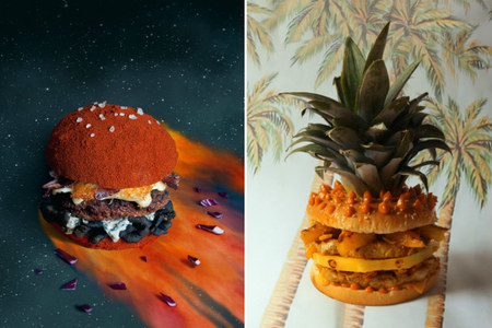 Sorprendentes hamburguesas de diseño