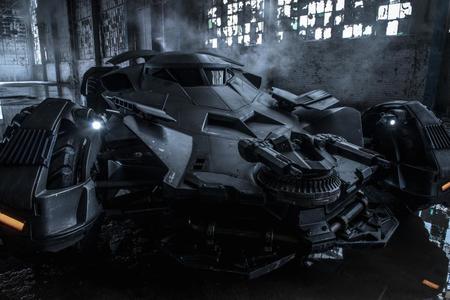 El nuevo coche de Batman
