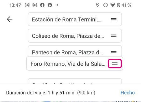 Google Maps Ruta Varias Paradas