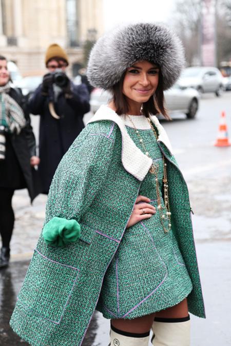 El street style de la Alta Costura de París congrega a las fashion insiders más frioleras