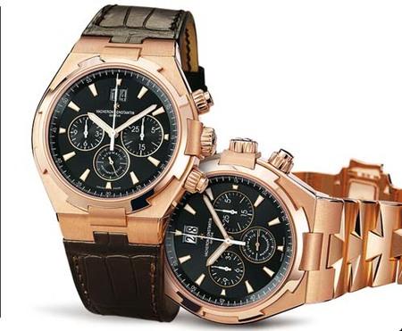 Vacheron Constantin Chronograph Overseas, deportivo en oro rosa