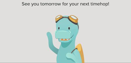 Abe, la mascota de Timehop