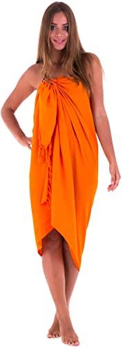 SHU-SHI - Pareo para mujer - Diseño en colores lisos