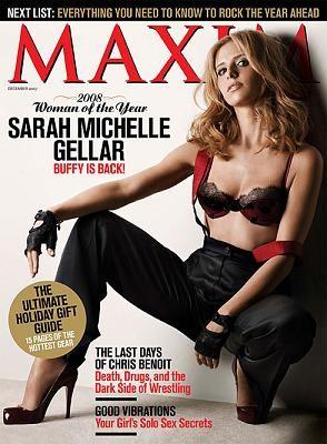 Sarah Michelle Gellar en Maxim