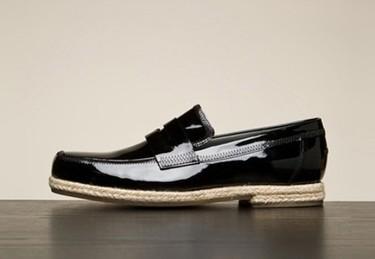 Viktor & Rolf: charol y esparto en un mismo zapato es posible