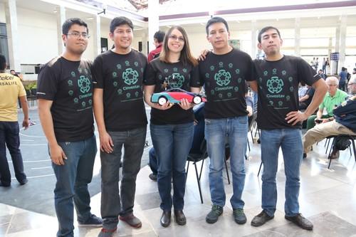 Así fue el primer rally mexicano de autos autónomos llevado a cabo en el IPN