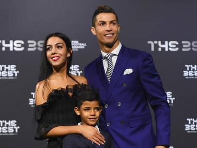 Y más premios: Cristiano Ronaldo se lleva a Georgina a los The Best FIFA 2016