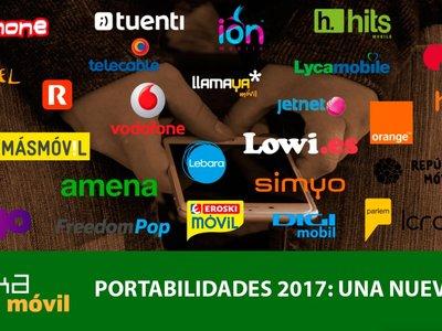 Portabilidades 2017: MásMóvil no es el único ganador del inicio de una nueva era