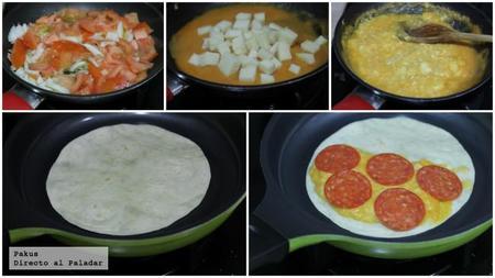 Quesadillas Chorizo Picante