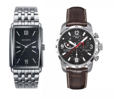 Dos relojes de hombre para regalar en Reyes
