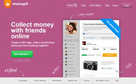 ShareAGift, compra un regalo con aportaciones de un grupo de personas