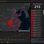 Este mapa monitoriza el avance del Coronavirus casi en tiempo real