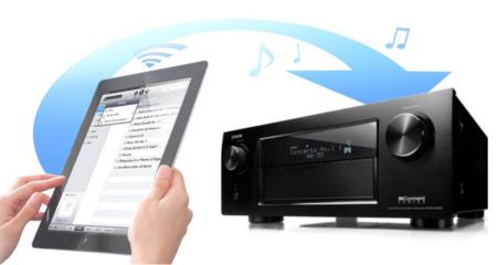 Denon ya tiene nuevos receptores A/V con Airplay y soporte 4K