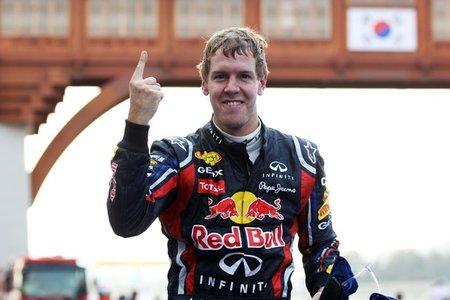 Sebastian Vettel recupera la sonrisa en el Gran Premio de Corea
