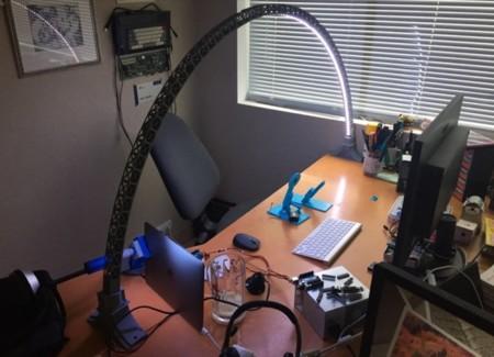 Puedes fabricarte esta lámpara LED tú mismo con una impresora 3D