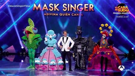 'Mask Singer' llega a su final: Antena 3 reivindica la televisión más festiva en un concurso que ha ido de más a menos