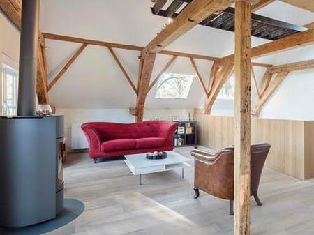 Casas que inspiran: un establo del siglo XVIII convertido en una moderna vivienda en los Países Bajos