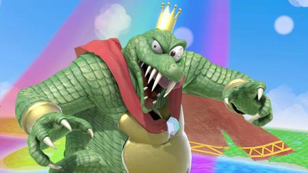 Dos efectos locos en Super Smash Bros. Ultimate: las mutaciones de Canela y Wario y la descomunal corona de King K. Rool