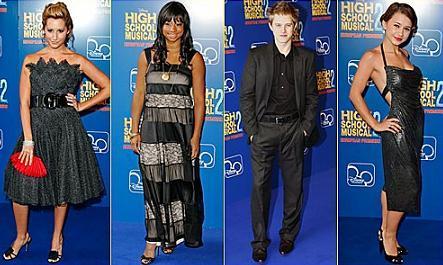 High School Musical 2 première
