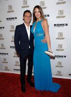 Valió la pena... Marc Anthony, su novia y el guapérrimo de Beckham