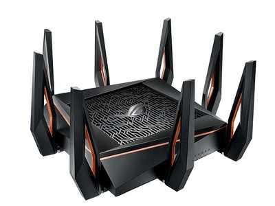 ASUS anuncia el lanzamiento del ROG Rapture GT-AX11000, su router WiFi 6 más puntero