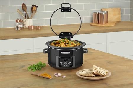Oferta de Amazon en la olla de cocción lenta Crock-Pot CSC052X-01 de 4,7 litros de capacidad: cuesta 47,99 euros