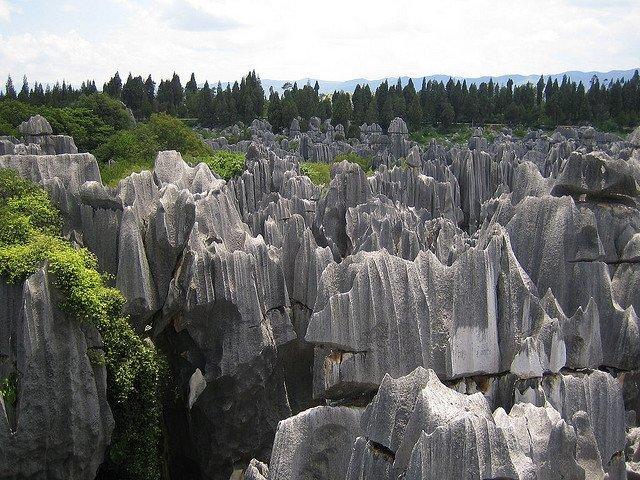 Paisajes impactantes: el Bosque de Piedra de Shilin