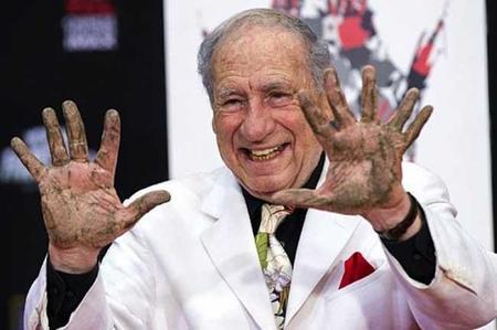 ¡Mel Brooks tiene once dedos!, la imagen de la semana