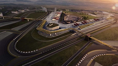 Ambicioso proyecto de circuito en Gales que cuenta con el beneplácito de Dorna