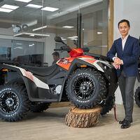 Kymco volverá al mercado de los ATV y quads a partir de 2021, estrenando tres modelos de hasta 700 cc