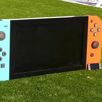 """Una buena obra: construye la Nintendo Switch funcional """"más grande del mundo"""", con pantalla 4K, y la dona a un hospital infantil"""