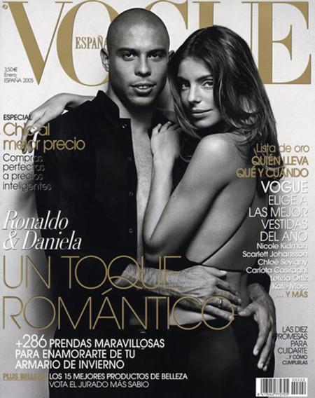 Ronaldo Daniela Cicarelli Vogue portada