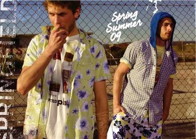 Springfield, colección para hombre Primavera-Verano 2009